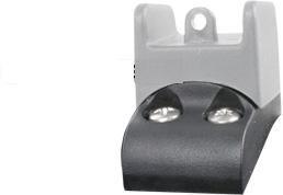 Ghost Ring Adapter zur Erhöhung der Visierung Klappschäfte Oben ATI