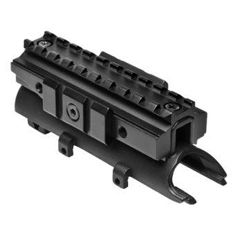 SKS Tri-Rail Sytem Deckel-Montage mit Picatinny- Weaverschienen Zielfernrohrmontage NcS USA