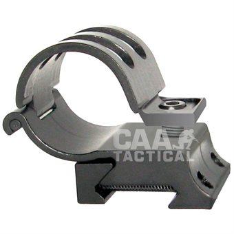Lampenhalter 25mm Aluminium CAA