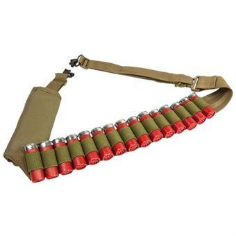 Trageriemen mit 15 Schuss Patronenhalter Bandolier Sand NcS USA