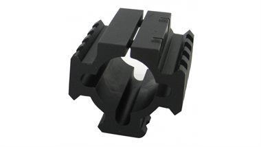 Universal Taktische Shotgun Laufmontage kurz - Weaver- Picatinnyaufnahme Three Rail Mount Short TacStar