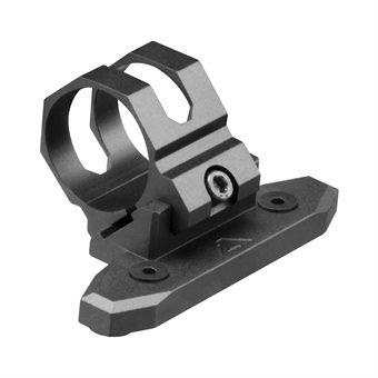 KeyMod Lampenhalter / 45 Grad Offset / 30mm Montage-Ring AIM USA