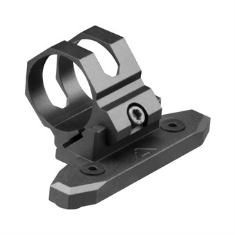 KeyMod Lampenhalter / 45 Grad Offset / 25mm Montage-Ring AIM USA
