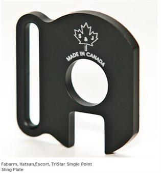 Fabarm, Hatsan,Escort, TriStar Single Point Sling Plate / Riemenöse S&J Hardware