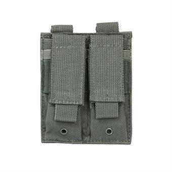 VISM Magazintasche Double Pistole Mag Pouch Grau NcS USA
