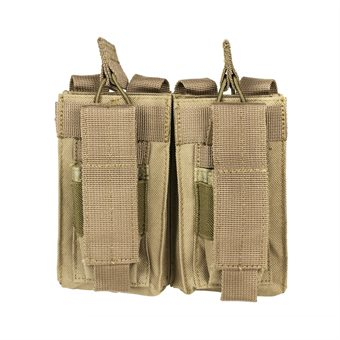 Double AR and Pistol Mag Pouch Sand NcS USA