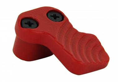AR15 Verlängerter Magazinauswerfer/ Rot, Stahl, T-Fire USA