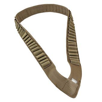 Schrottpatronen Schultergurt / Shotgun Bandoleer für 53 Patronen in Sand NCS USA