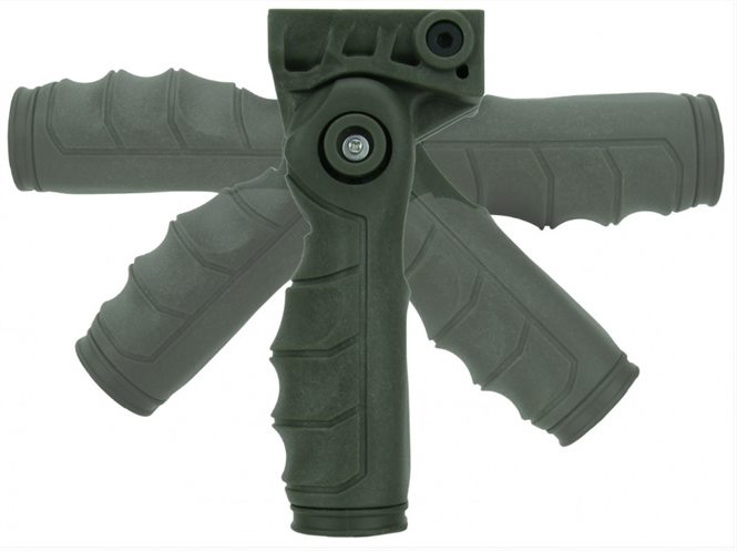 Griff 5 Positionen Picatinny Grün T-Fire USA
