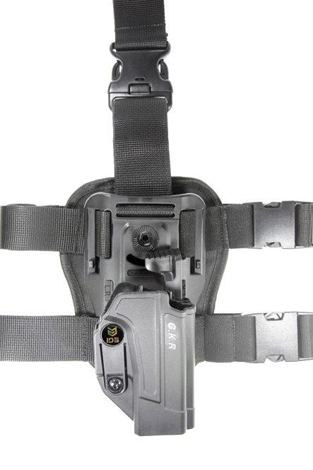 Glock 17/19 Beinholster Befestigung Schwarz IDS