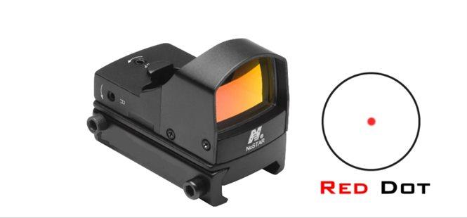 Red Dot Micro mit Weaver- Picatinnyschiene