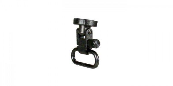 AR-15 Riemenbügelöse und Riemenbügel / Sling Swivel Adapter mit Swivel für die AR-Kunststoffschäfte ATI
