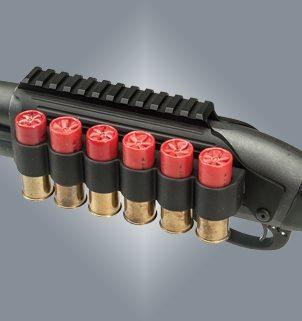 Remington 870/1100/11-87 Zielfernrohrmontage Weaver- Picatinnyaufnahme mit Patronenhalter TacStar