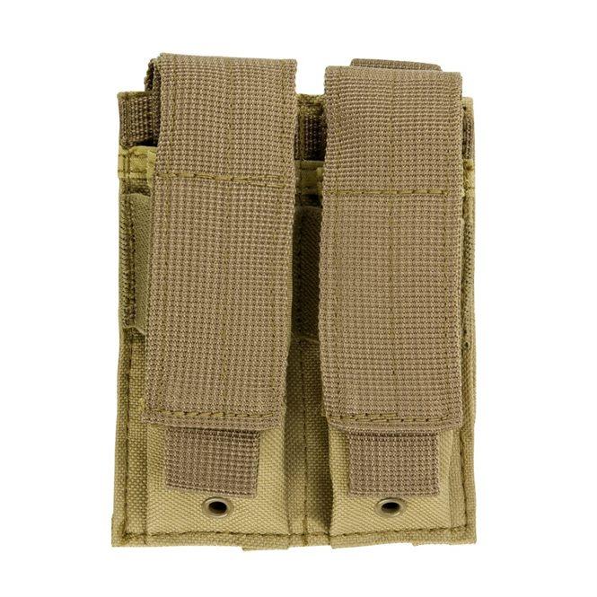 VISM Magazintasche Double Pistole Mag Pouch Sand NcS USA