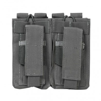 VISM Double AR and Pistol Mag Pouch Grau NcS USA