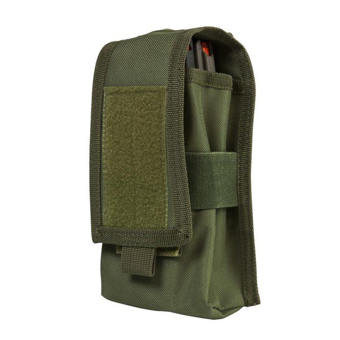 VISM Double AR-15/AK-47 Magazintasche / Mags Pouch Grün NcS USA