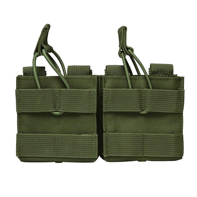 AR10 / M1A / FAL .308 etc.. Doppelte Magazintasche Grün NcS USA
