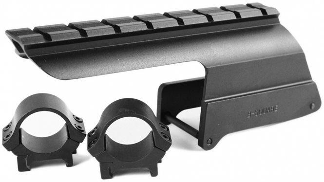 Winchester 1200/1300/1400 Zielfernrohrmontage Weaver- Picatinnyschiene B-Square
