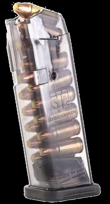 Glock 22, 23, 27 und 35 Magazin 9mm 40 S&W 16 Schuss durchsichtig ETS