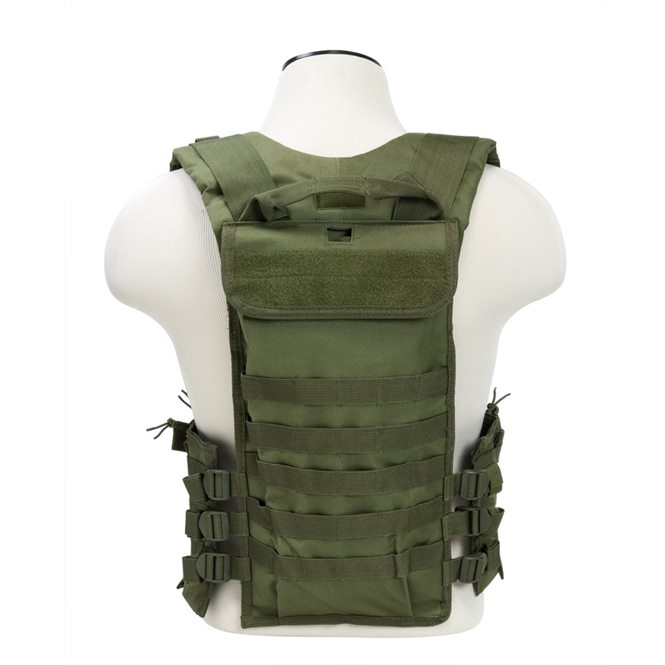 starshooter ar 15 magazinweste magazintasche f r 12 magazine chest rig gr n ncs usa. Black Bedroom Furniture Sets. Home Design Ideas