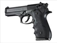 Beretta 92/96 Griff mit Fingerrillen OverMolded Hogue