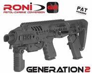 Glock 17 / 19 / etc.  RONI G2 Carbine Conversion Kit GEN.2 CAA AKTUELLE FERTIGUNG 2020