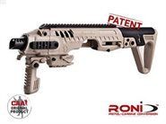 Glock 17 / 19 / etc.  RONI G2 Carbine Conversion Kit GEN.2 Sand CAA AKTUELLE FERTIGUNG 2018