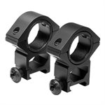 """30mm und 1"""" X 1.3""""H Weaver Ringe"""