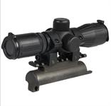 4x32 Zielfernrohr SKS beleuchtet mit Montage und Ringen AIM