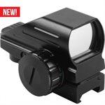 Reflex Sight Dot Rot / Grün Dot + Bullseye + Cross + Starburst mit 11mm Aufnahme AIM USA
