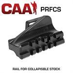 AR-15 Weaver/Picatinny Schiene für Klappschaft CAA