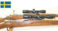 Zielfernrohr 2-7x32 und Montage Set Schwedisch Mauser / Schweden Mauser M96 und M38