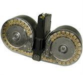 Mini-14 Magazin / Mini14 Trommelmagazin 100 Schuss durchsichtig Beta C-MAG