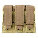 VISM 3er Magazintasche für Pistolenmagazine Sand