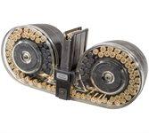 SCAR 17 Magazin / Trommelmagazin .308 / 7,62x51 Nato 100 Schuss Durchsichtig Beta C-MAG