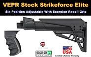 Molot VEPR Schaft / Schubschaft mit Pistolengriff Strikeforce mit Scorpion Dämpfungssystem ATI TactLite