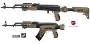 AK-47 Set mit Scorpion Dämpfungs-System Desert Tan TactLite