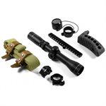 Mosin Nagant Zielfernrohr-Set / Riemen / Schaftkappe/ -Angebotspreis AIM USA