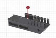 Tactlite Adapter blockiert den Schubschaft  ATI