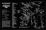 TEKMAT Beretta 92