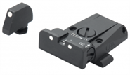 Glock 17 Visierset FiberOptic Adjustable Sight LPA Sights