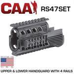 "AK-47 Handschutz Quadrail Set 137mm / 5"" CAA"