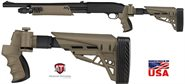 ATI Mossberg 500 / 590 / Maverick 88 /Remington 870 /Winchester 1300 Kaliber .12 Strikeforce Sand Klapp- Schubschaft ATI