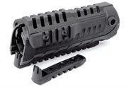 """AR-15, M4 Handschutz mit drei Weaver- Picatinnyschienen 18cm / 7"""" CAA"""