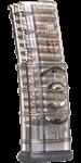 AR-15 Magazin 30 Schuss .223 / 5,56 Nato durchsichtig / Magazinkoppler  ETS