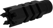 "Mündungsfeuerdämpfer/ Mündungsbremse 5/8""X24 Thread Shark .308 Stahl (Black) T-Fire USA"