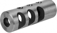 "Mündungsbremse / Mündungsfeuerdämpfer 5/8""x24 THREAD FULL SIZE MUZZLE BRAKE W/CRUSH WASHER STAINLESS STEEL"