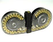 CZ Scorpion EVO Magazin 9mm 100 Schuss Durchsichtig Beta C-MAG