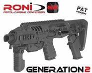 BERETTA PX4 STORM 9mm, 40.  RONI G2 Carbine Conversion Kit GEN.2 CAA AKTUELLE FERTIGUNG 2018