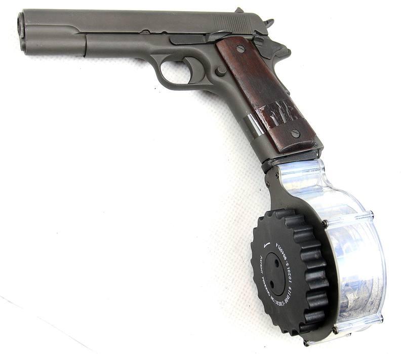 STARSHOOTER   1911 und Colt 1911 Magazin / Trommelmagazin .45 ACP 28 ...